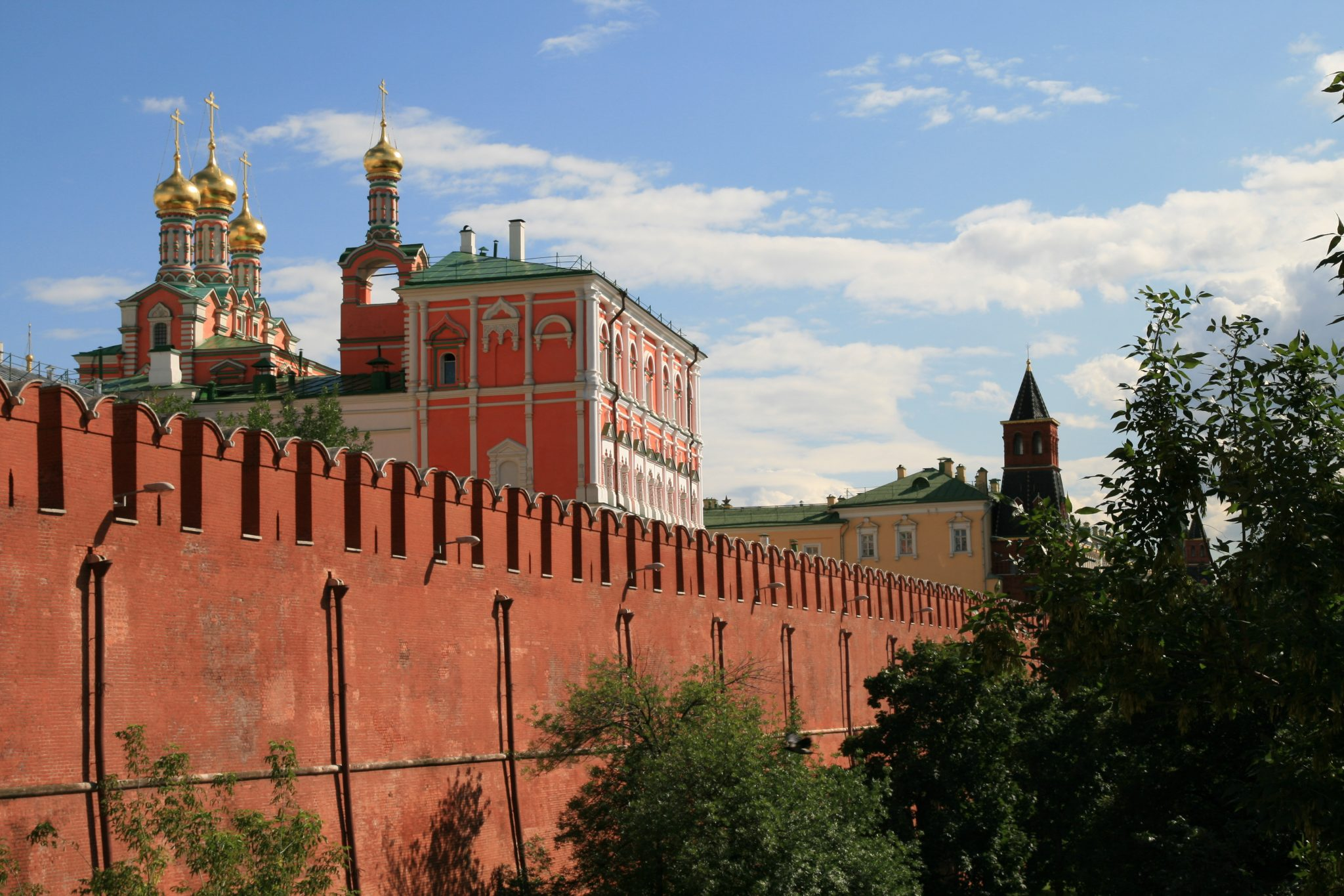 Mury Kremla fot. Bernt Rostad / Flickr