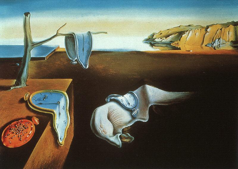 Typowa hiszpańska punktualność. Tutaj w ujęciu Salvadora Dalí
