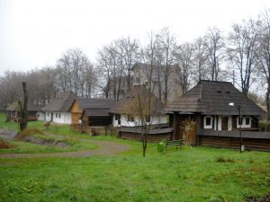 Skansen w Suczawie