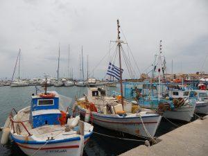 Egina - port rybacki