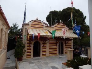 Egina - klasztor św. Nektariusza